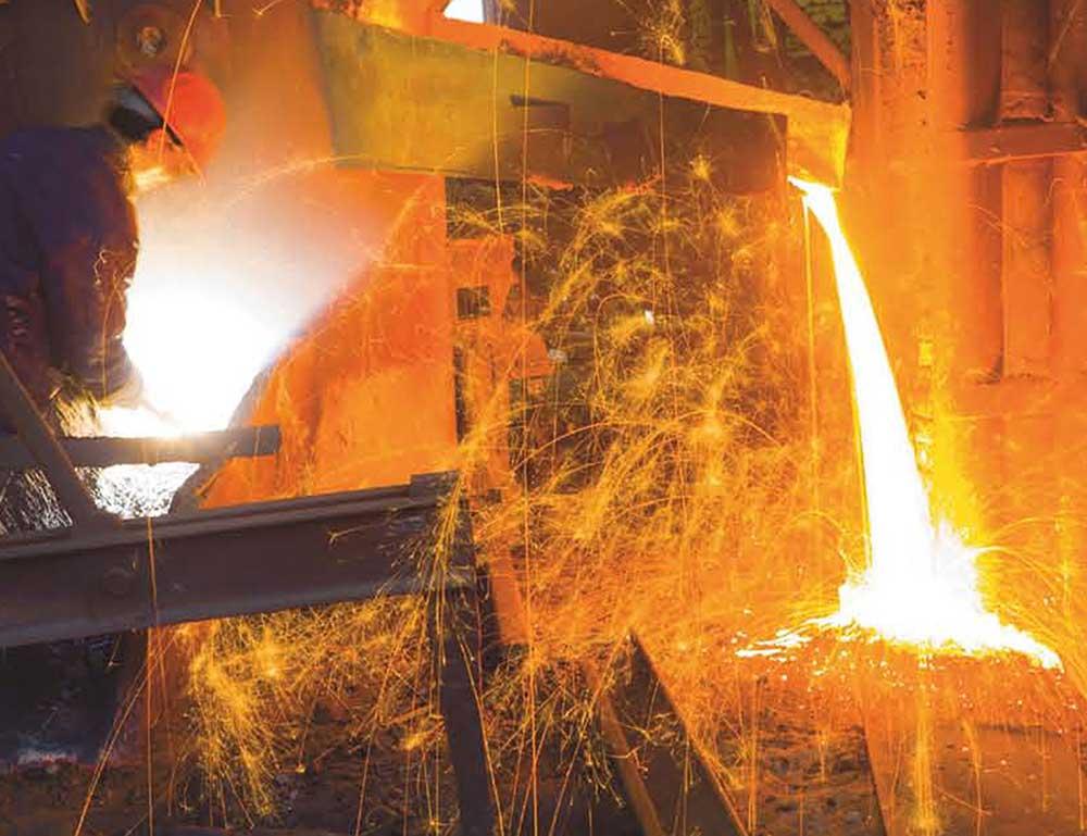 Varnice u toku rada sa vatrostalnim materijalima u radionici
